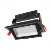Proyector Basculante LED Samsung Rectangular 38W Negro