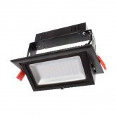 Proyector Basculante LED Samsung Rectangular 28W Negro