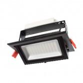 Proyector Basculante LED Samsung Rectangular 60W Negro
