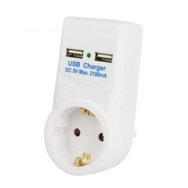 Adaptador de Luz con USB