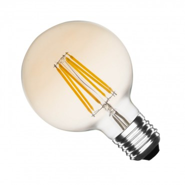 Bombilla LED E27 Ahumada Dimable filamento Small Globo Dm 6W