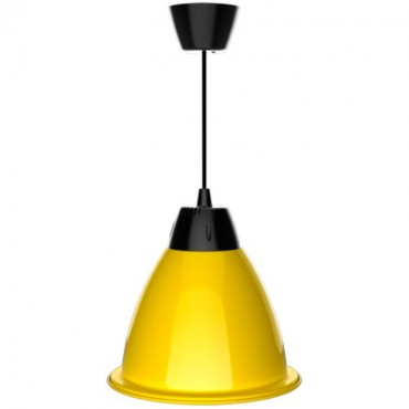 Lámpara LED Suspendida FREEDOM 35W Amarillo Avispa