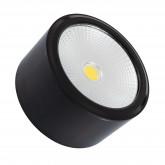 Plafón LED COB 12W Negro