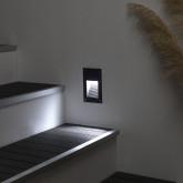 Baliza LED Vertical Negro 3W
