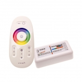 Controlador RGBW 12/24V Mando Táctil RF