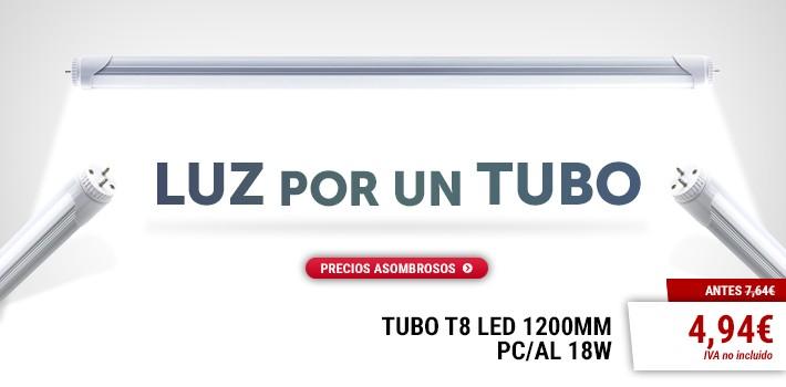 Luz por un tubo